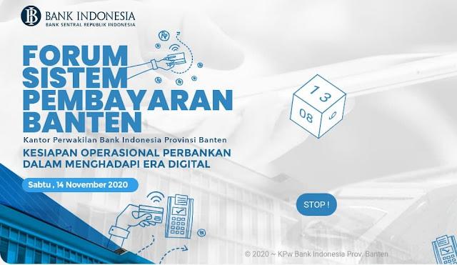 Undian Forum Sistem Pembayaran BI Banten