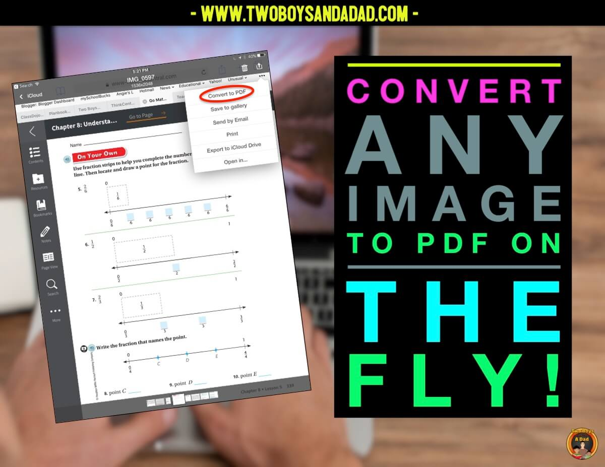 use your digital resources in the class with PDF Expert