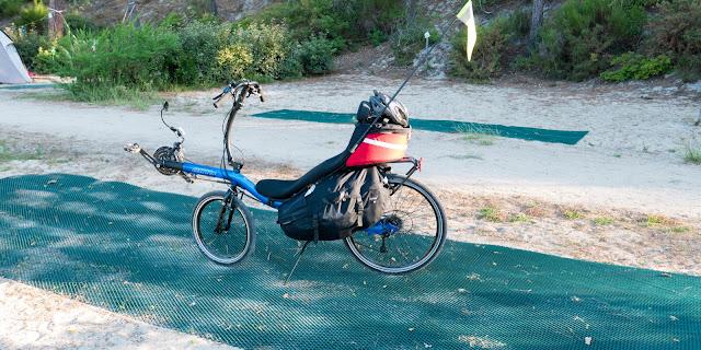 Vélodyssée, préparatif pour la balade du jour