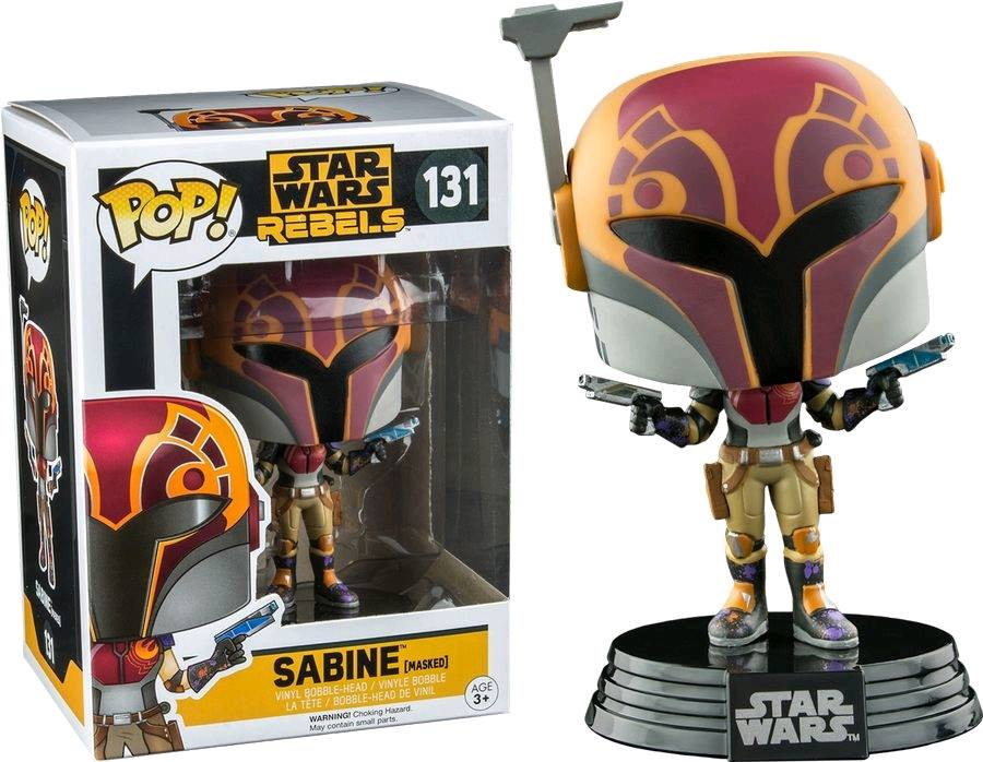First Look At Sabine Wren Funko Pop Figure The Star