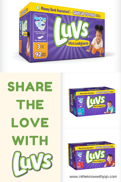 Ensure that you give the best #quality #diapers for your little ones! Try it with #Luvs!