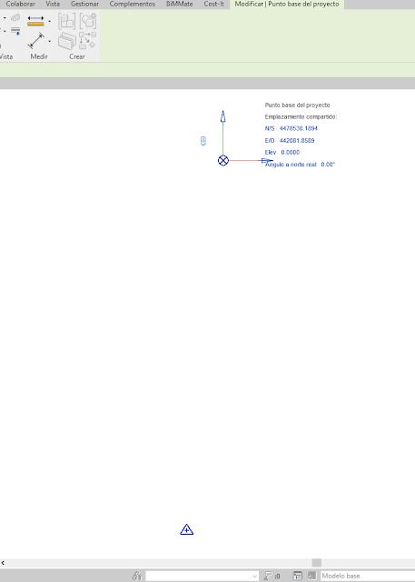 pantallazo de revit