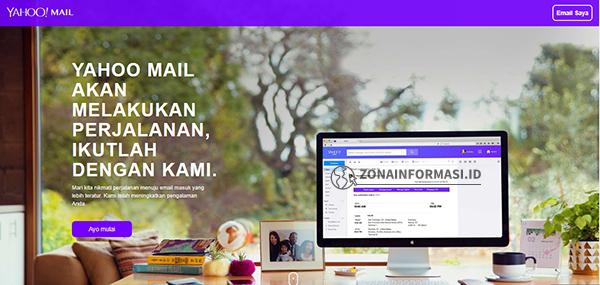 Email gratis dari Yahoo