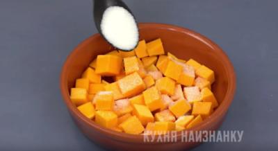 Тыквенный десерт из тыквы за 6 минут: конфеты осенью не покупаю
