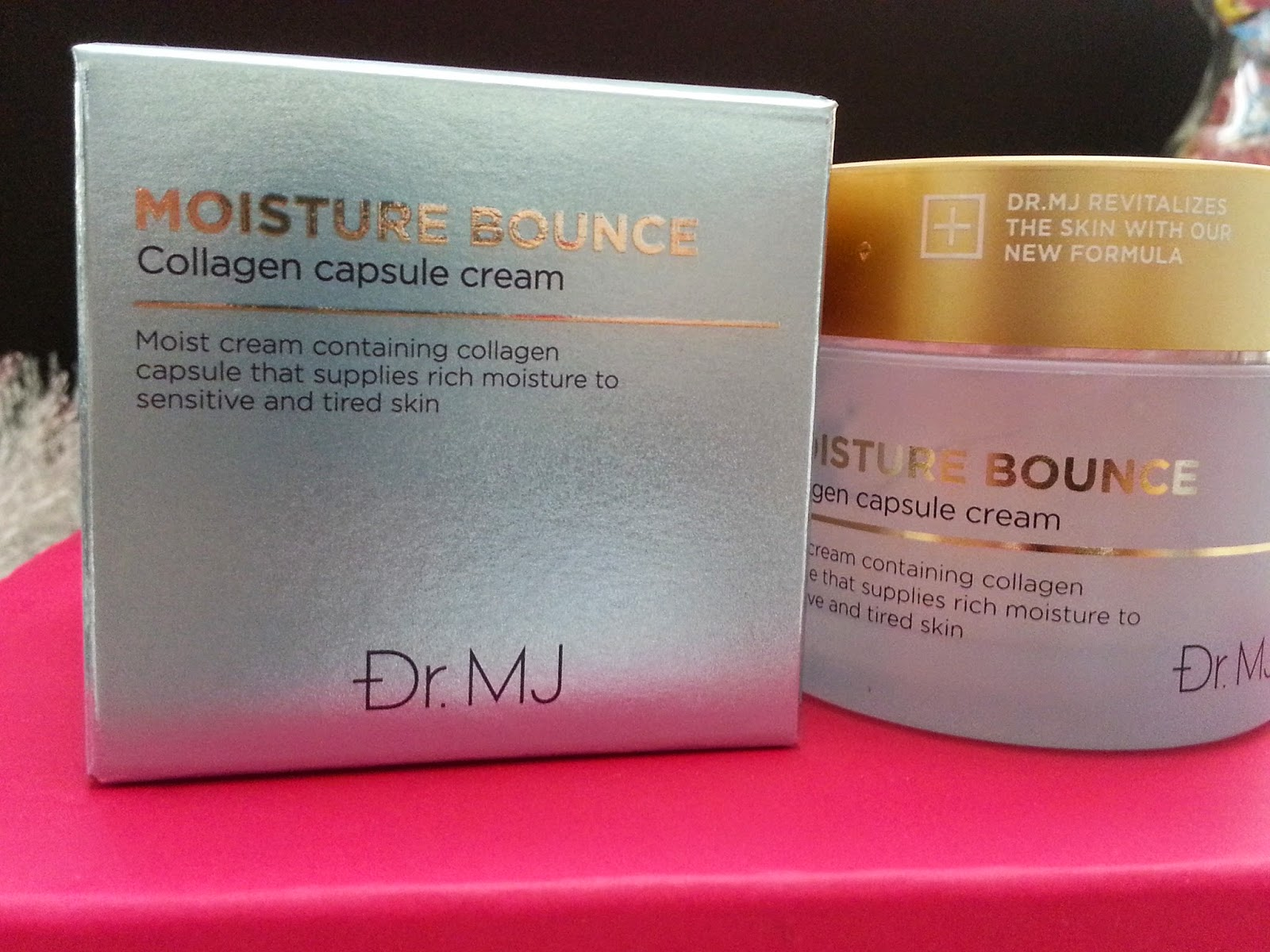 Dr. MJ Moisture Bounce Collagen Capsule Cream