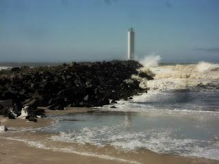 Praia dos Molhes ou do Rio Mampituba, Torres