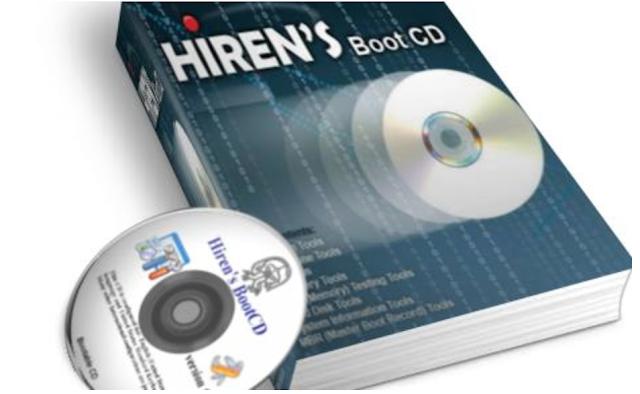 Hiren's BootCD PE x64 v1.0.1 CD de Utilidades Para Diagnosticar y Reparar su PC