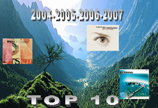 2004-2005-2006-2007  Top 10 zene