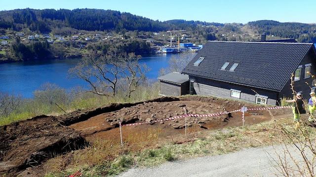 O local da descoberta. Imagem: Universidade de Bergen