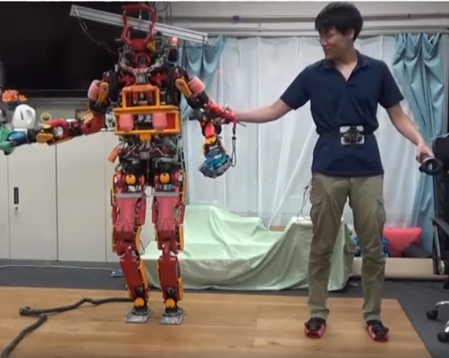 Scientists use HTC Vive controllers to operate this rescue robot like a puppet