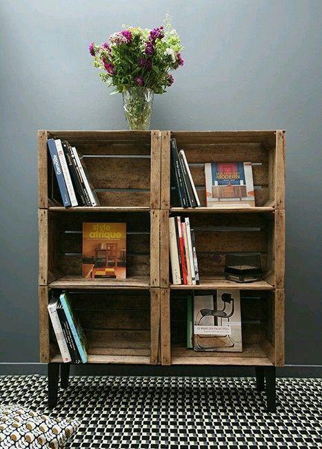 Cajones de madera reciclados construccion y manualidades - Hazlo tu mismo muebles ...