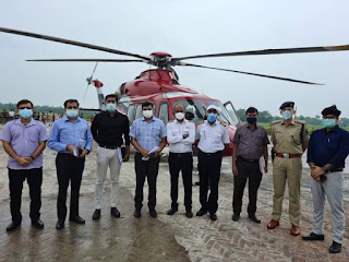 nitish-air-inspaction-of-flood