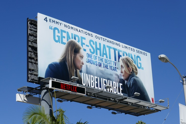 Unbelievable 4 Emmy nominations billboard