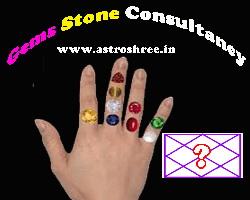 which gems stone will suit and enhance luck as per astrology.