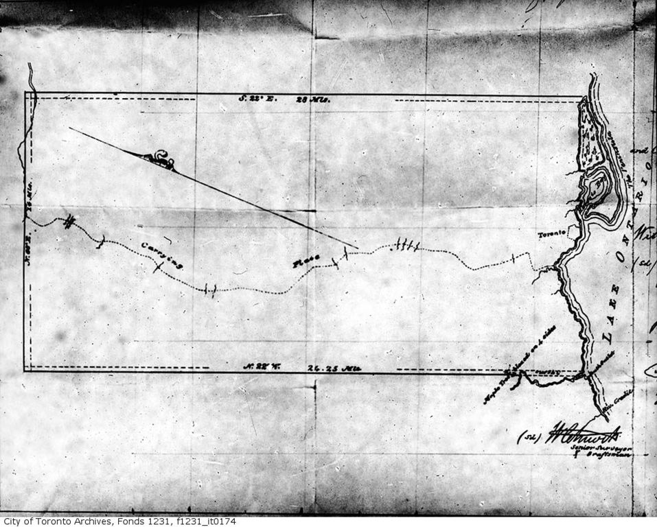 Plan of the Toronto Purchase