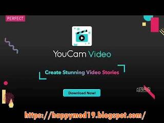Screenshots 2 of YouCam Video Editor Mod Apk Latest [Fully Unlocked]