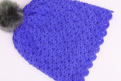7 - Crochet Imagenes Gorro de lana a crochet con pompom por Majovel Crochet