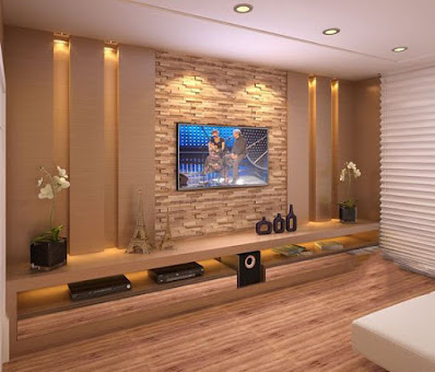 interior design for tv wall mounting