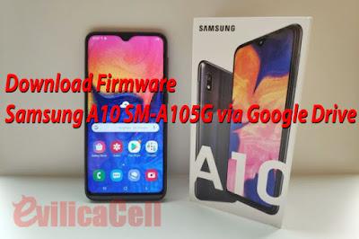 Firmware Samsung Galaxy A10 SM-A105G Google Drive