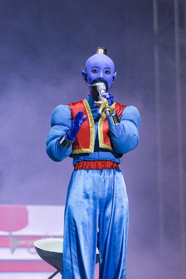Dahyun, Twice'ın hayran buluşması için Aladdin'deki Cin kılığına girdi
