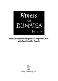 Fitness For Dummies PDF Books