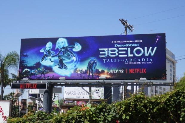 3Below Tales of Arcadia season 2 billboard