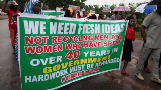 'Abba Kyari Must Go' Protest Rocks Abuja [PHOTOS]