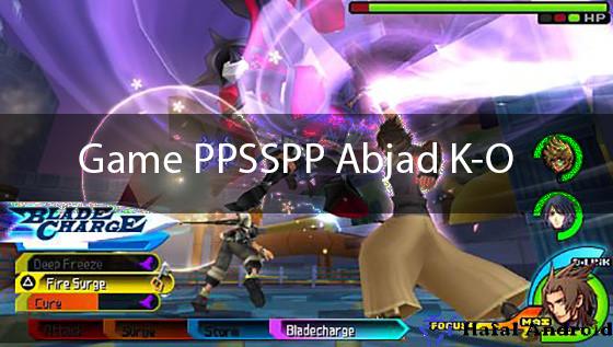 Game PPSSPP Andorid Abjad K-O