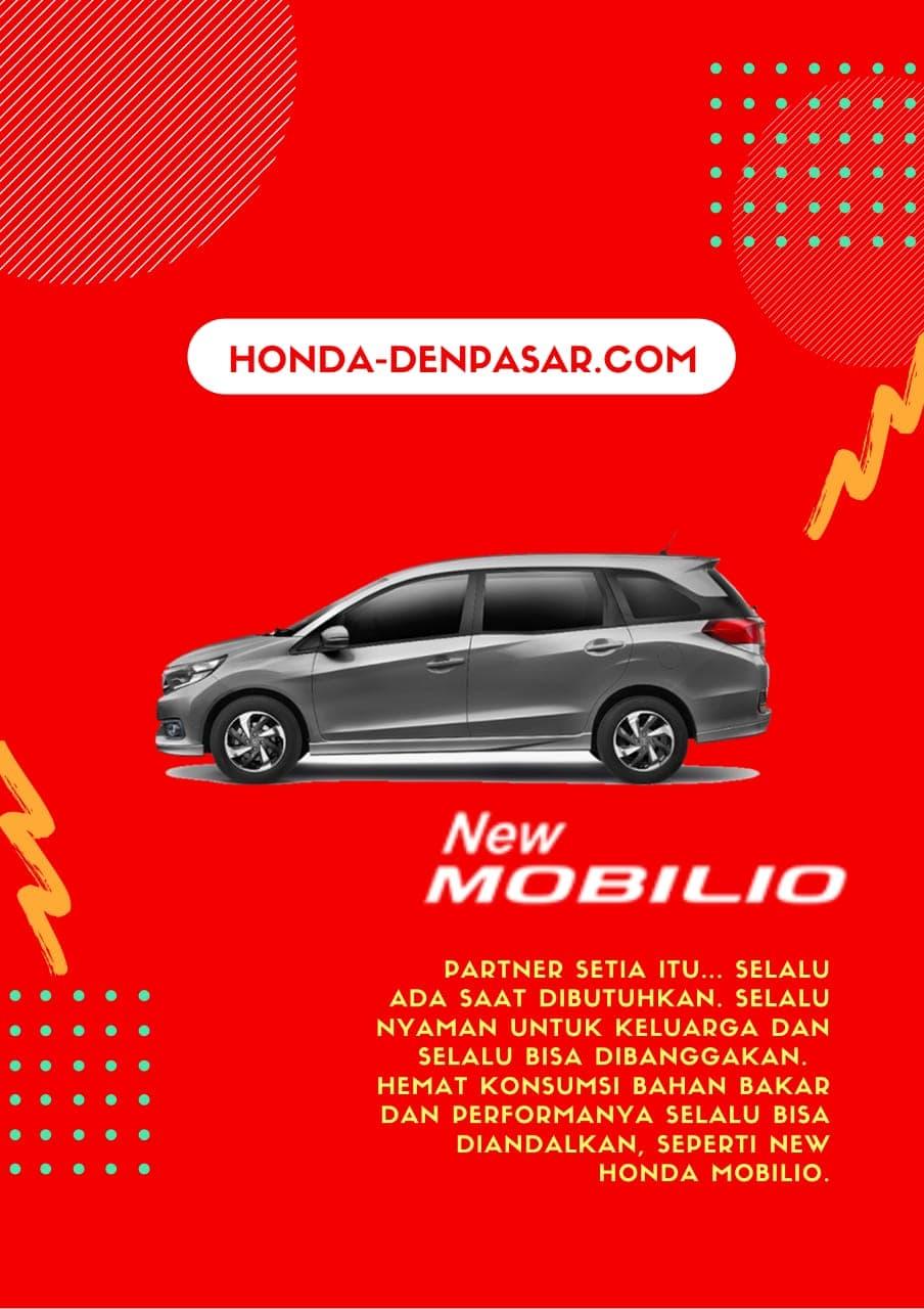 Honda Mobilio, Harga Honda Mobilio Bali, Promo Honda Mobilio Bali