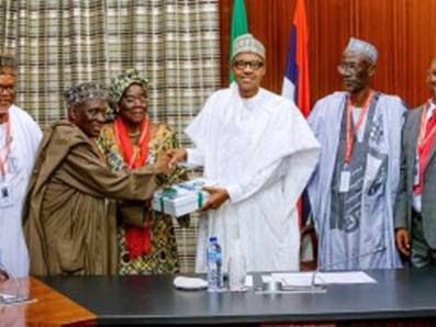 PHOTOS: PMB receives Annual Report of PSC in State House