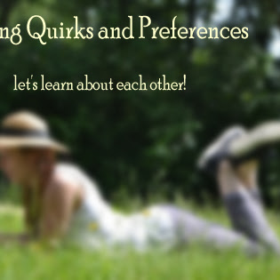Reading Quirks & Preferences: Where do you read, what do you read......let's chat!