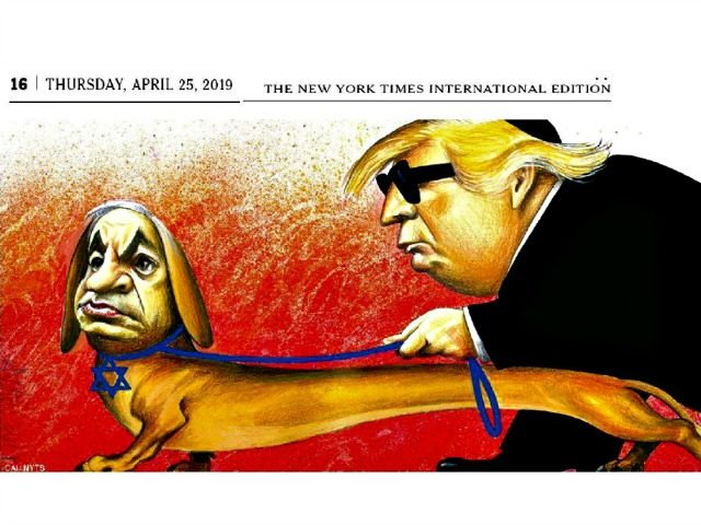 Jewish groups: Trump spreads anti-Semitic trope by accusing Jews of 'disloyalty' NYT-Cartoon-640x480