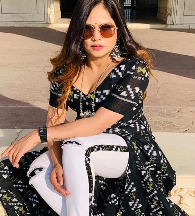 Chhandita Padhi Looking Gorgeous in her Latest Black Dress Photoshoot