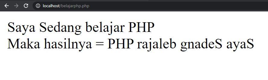 Tutorial PHP Pemula #4 : Memanipulasi String Pada PHP