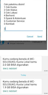 kenapa Kuota Lokal Indosat Tidak Bisa Digunakan