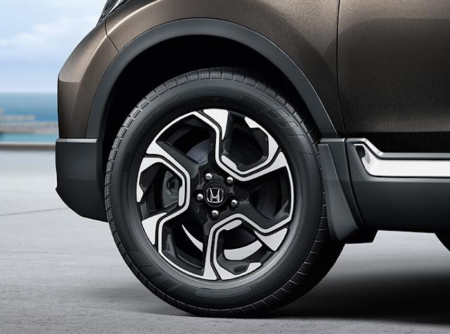 हौंडा सीआर-वी wheel, हौंडा सीआर-वी side wheel