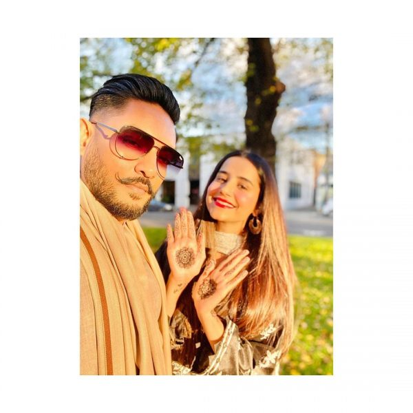 Saniya Shamshad with Her Husband | Beautiful Pictures