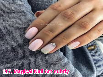Magical Nail Art subtly