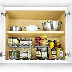 Lynk Professional 430422DS Slide Out Double Spice Rack