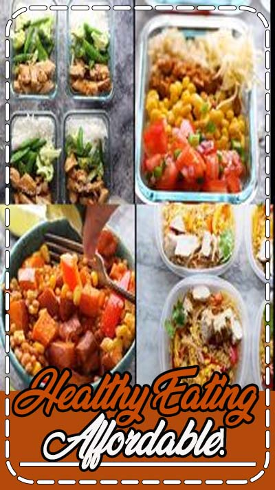 Healthy Eating Affordable!