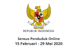 LOGIN sensus.bps.go.id/createpassword, Daftar Sensus Penduduk Online 2020