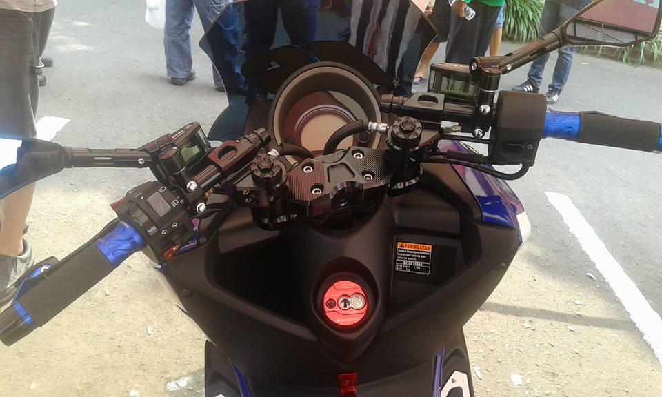 modifikasi ringan yamaha nmax monster racing  urban