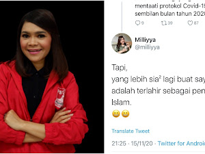 Posting Menyesal Terlahir sebagai Penganut Islam, Politikus PSI ini Hapus Twit lalu Minta Maaf