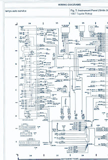 1987 toyota pickup 4wd 22r engine wiring diagram