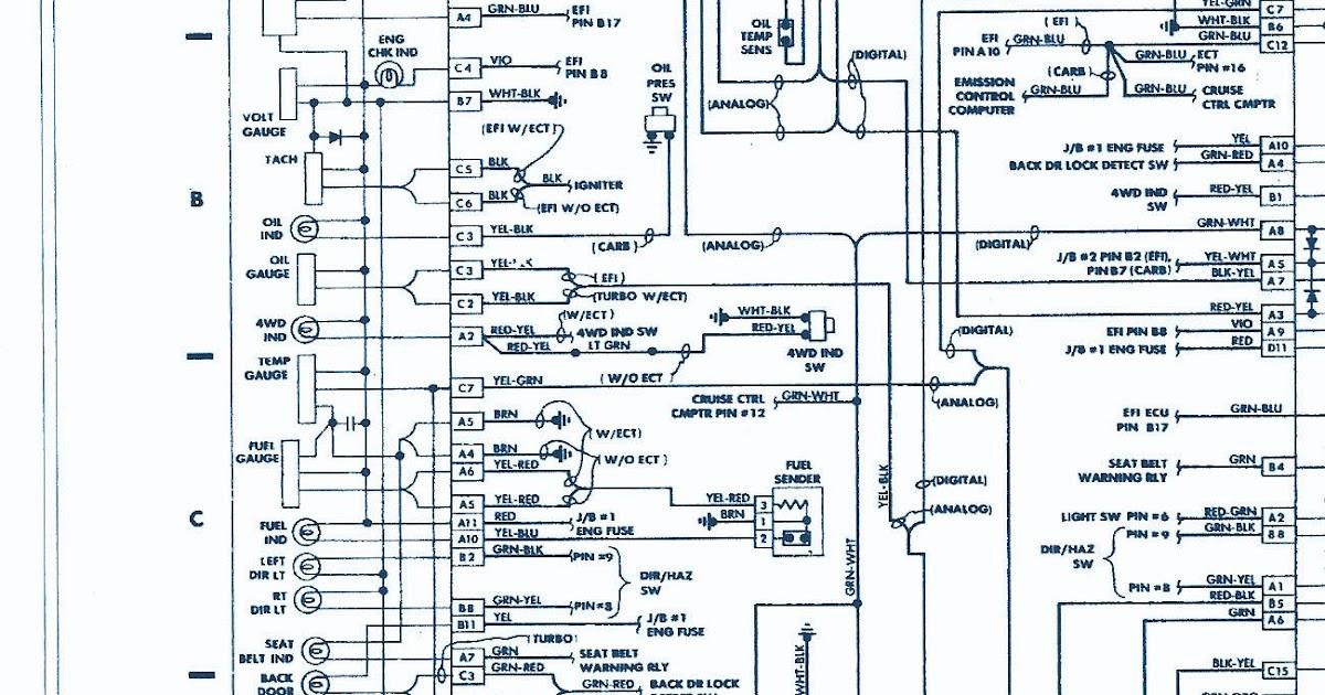 1985 Toyotum Pickup Engine Wiring Harnes Diagram - Wiring ...