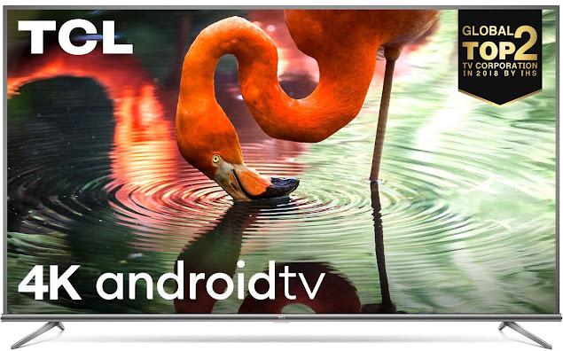 TCL 55P8E 4K Ultra HD Smart LED TV