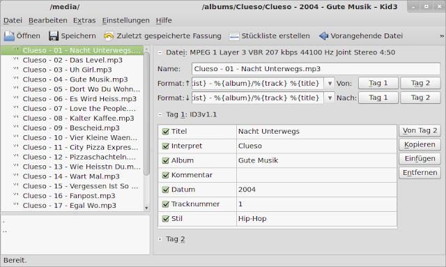 Como instalar o KID3 no Ubuntu, Linux Mint, Debian, OpenSuse, Fedora e organizar suas músicas!