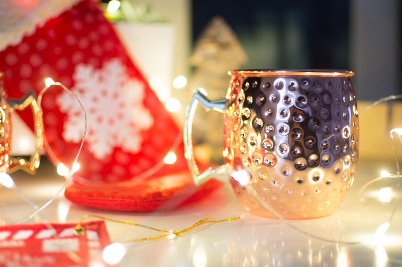 Christmas Gift Guide and Giveaway moscow mule mug