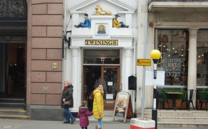 Loja de chá Twinings