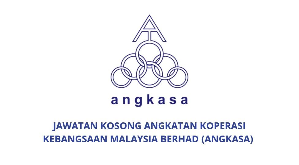 Jawatan Kosong Angkatan Koperasi Kebangsaan Malaysia Berhad 2019 Angkasa Spa